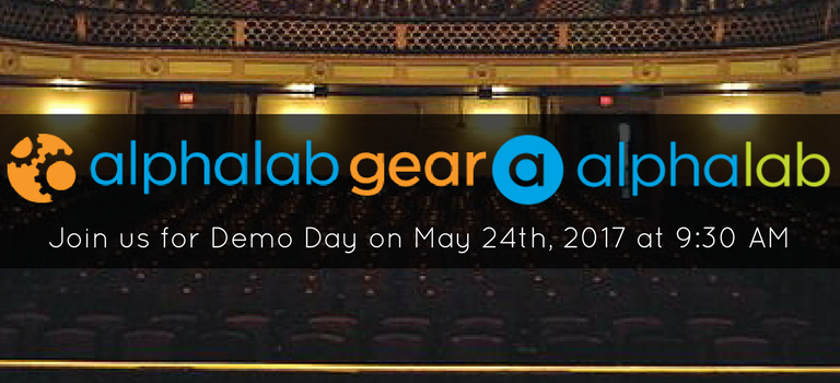 AlphaLab Gear and AlphaLab Demo Day Banner Image